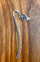 4.00 resell for 12.00 or more Pewter Bookmark French Horn  Style #FHBM041519