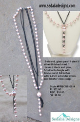 Glass Pearls - 3 strand