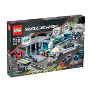Lego Racers Brick Street Customs Racing Garage 8154
