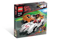 Lego Speed Racer & Snake Oiler 8158