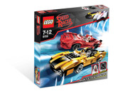 Lego Speed Racer Racer X & Taejo Togokhan 8159