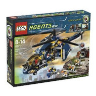 Lego Agents Aerial Defense Unit 8971