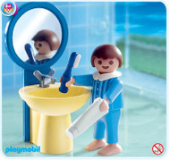 Playmobil Special Boy with Sink #4661