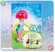 Playmobil Ocean Fairy with Baby Seahorses #4813