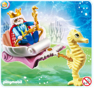 Playmobil Ocean King with Seahorse Carriage #4815