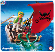 Playmobil Add-On Pirate Raft #5780