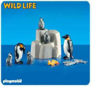 Playmobil Add-On 2 Emperor Penguins with Babies #6259
