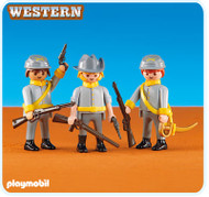 Playmobil Add-On 3 Confederate Soldiers #6276