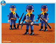 Playmobil Add-On 3 Union Soldiers #7047