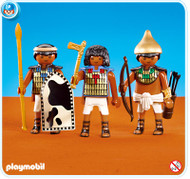 Playmobil Add-On 3 Soldiers of Pharaoh #7383