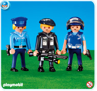 Playmobil Add-On 3 Police Officers #7385