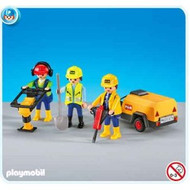 Playmobil Add-On 3 Construction Workers #7451