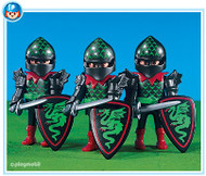 Playmobil Add-On 3 Green Dragon Knights #7669