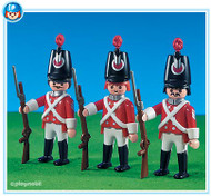 Playmobil Add-On 3 Redcoat Soldiers #7675