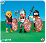 Playmobil Add-On 3 Gaul Soldiers #7924