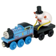 Thomas the Tank Engine Wooden Thomas and Snowman
