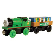 Thomas the Tank Engine Wooden Percy and Storybook Car