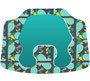 Bumbo Baby Seat Cover Whales 963