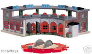 Thomas the Tank Wooden Deluxe Roundhouse + Turntable