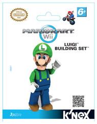 Knex Nintendo Mario Kart Wii Luigi Figure 38027