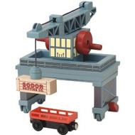 Thomas the Tank Wooden Rolling Gantry Crane