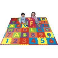 Alphabet and Numbers Foam Puzzle Play Mat