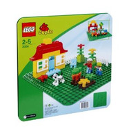 Lego Duplo GREEN Building Plate 15in x 15in 2304