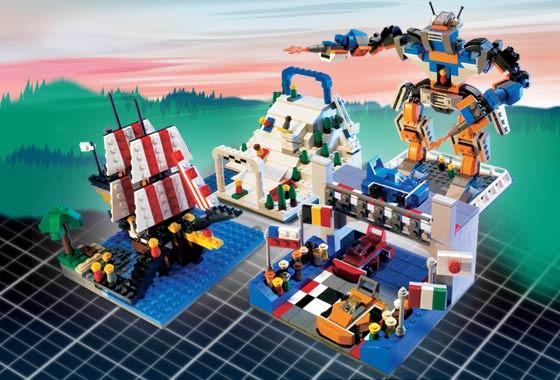Lego Factory Amusement Park 5525