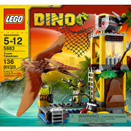 Lego Dino Tower Takedown 5883
