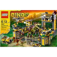Lego Dino Defense HQ Headquarter 5887