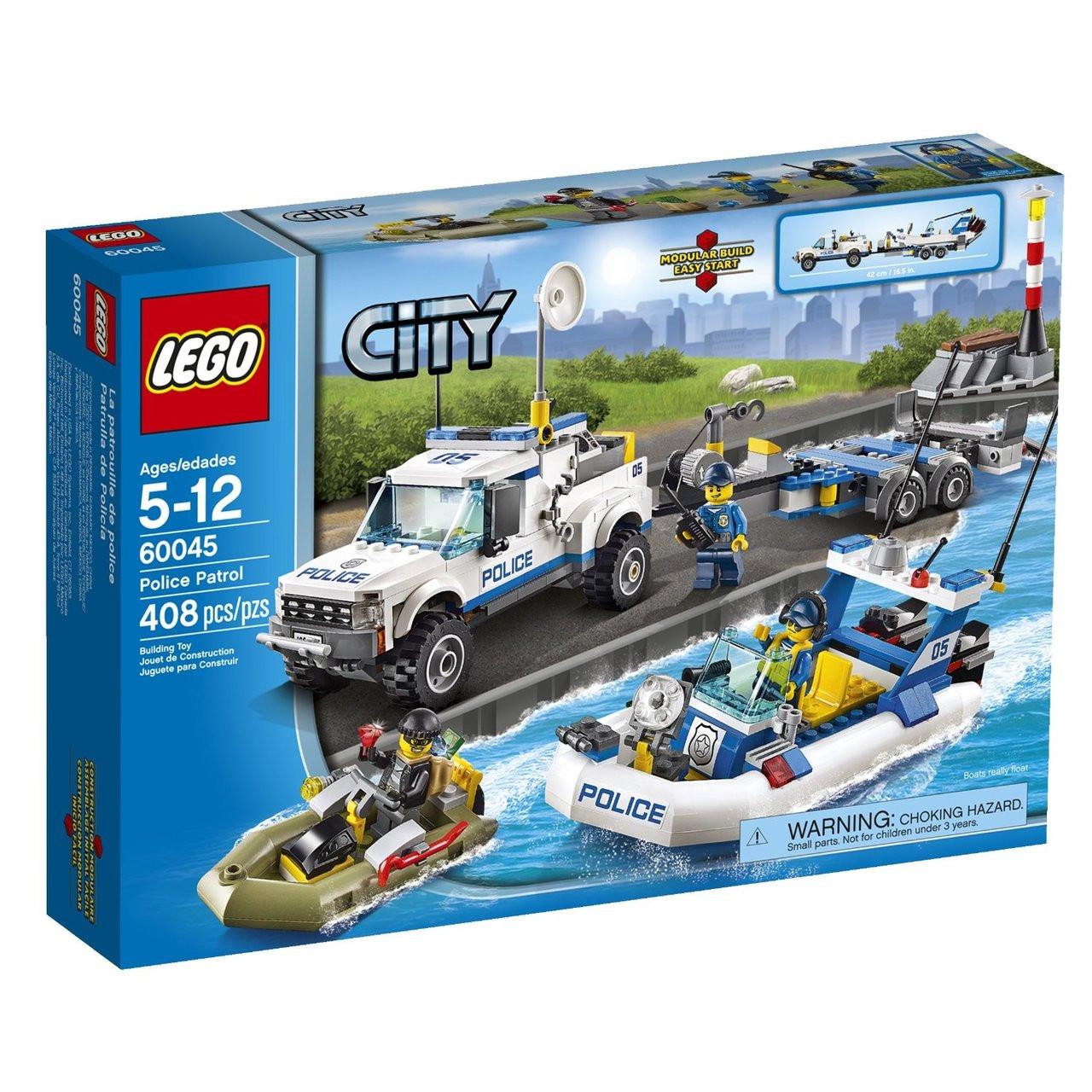 Lego City Police Patrol 60045 Shop4toyz