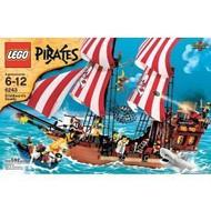 Lego Pirates Brickbeard's Bounty Ship 6243