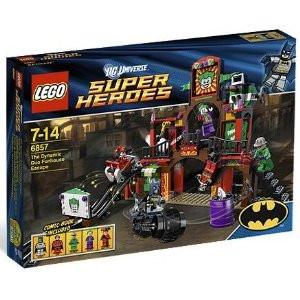NEW LEGO HARLEY QUINN minifig  figure minifigure 6857 super heroes dc