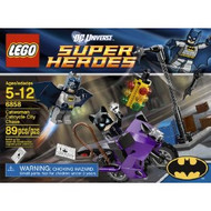 Lego DC Super Heroes Catwoman Catcycle City Chase 6858