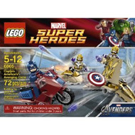 Lego Marvel Captain America's Avenging Cycle 6865