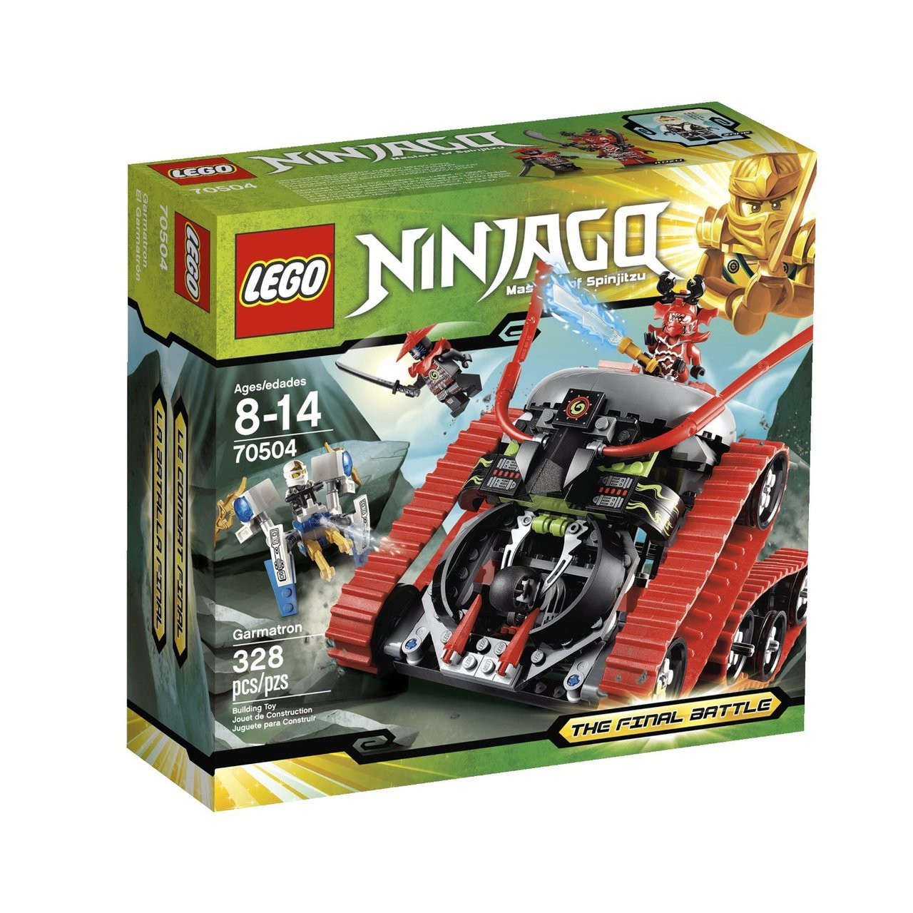 2 LEGO NINJAGO GARMATRON GENERAL KOZ /& Lord Garmadon MINIFIGURES  LOT new