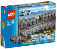 Lego City Flexible and Straight Tracks Set 7499