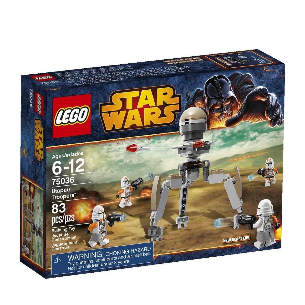 Lego Star Wars Clone Paratrooper 75036 Mini Figure