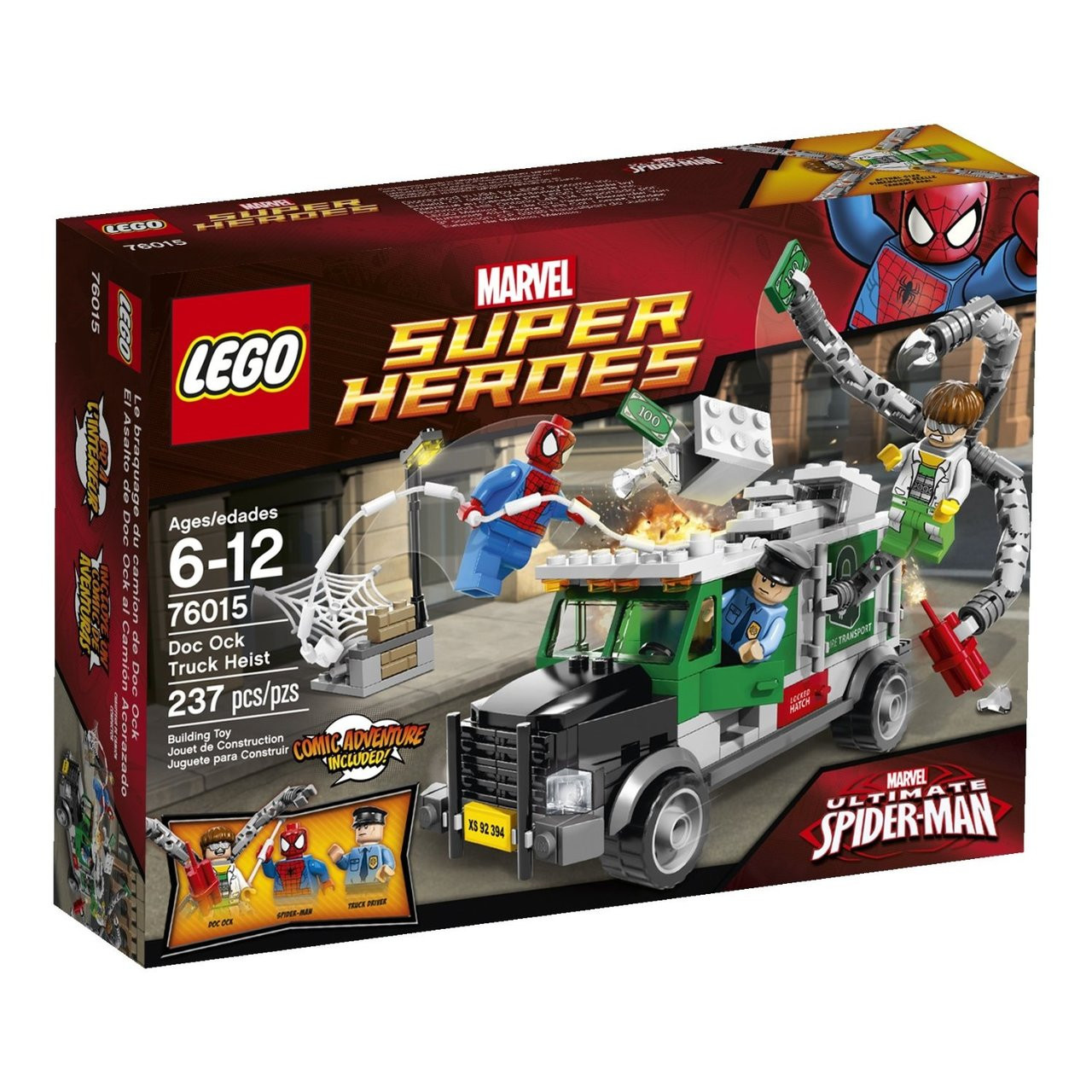 LEGO Marvel Super Heroes 76015 Truck Driver MiniFigure NEW