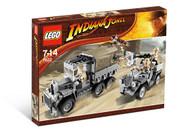 Lego Indiana Jones Race for the Stolen Treasure 7622