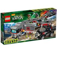 Lego Ninja Turtles Big Rig Snow Getaway 79116