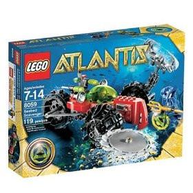 Lego Atlantis Set 8059 Seabed Scavenger 2010 Complete Bricks Blocks.