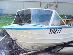 boat 3 piece windscreen