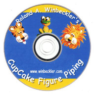 CUPCAKE FIGURE PIPING DVD BY ROLAND WINBECKLER