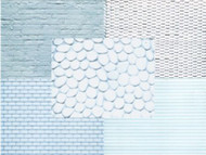 ICING IMPRESSION MAT/ASSORTMENT --PKG/5