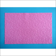 "Damask/Filigree Silicone Texture Mat--22 1/2"" x 15"""