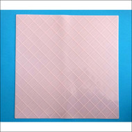 "Quilt Texture Silicone Mat--19 1/2"" x 19 1/2"""