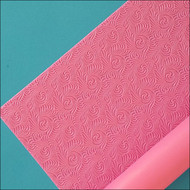 "Rosette Silicone Texture Mat--22 1/2"" x 15"""