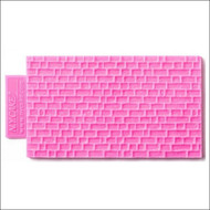 """Mini Brick Texture Mat - Silicone--5 3/4"""" X 3 1/2"""""""