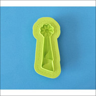 Draped Ruffle Drop--Marvelous Molds Silicone Mold